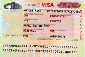 Xin Visa Canada